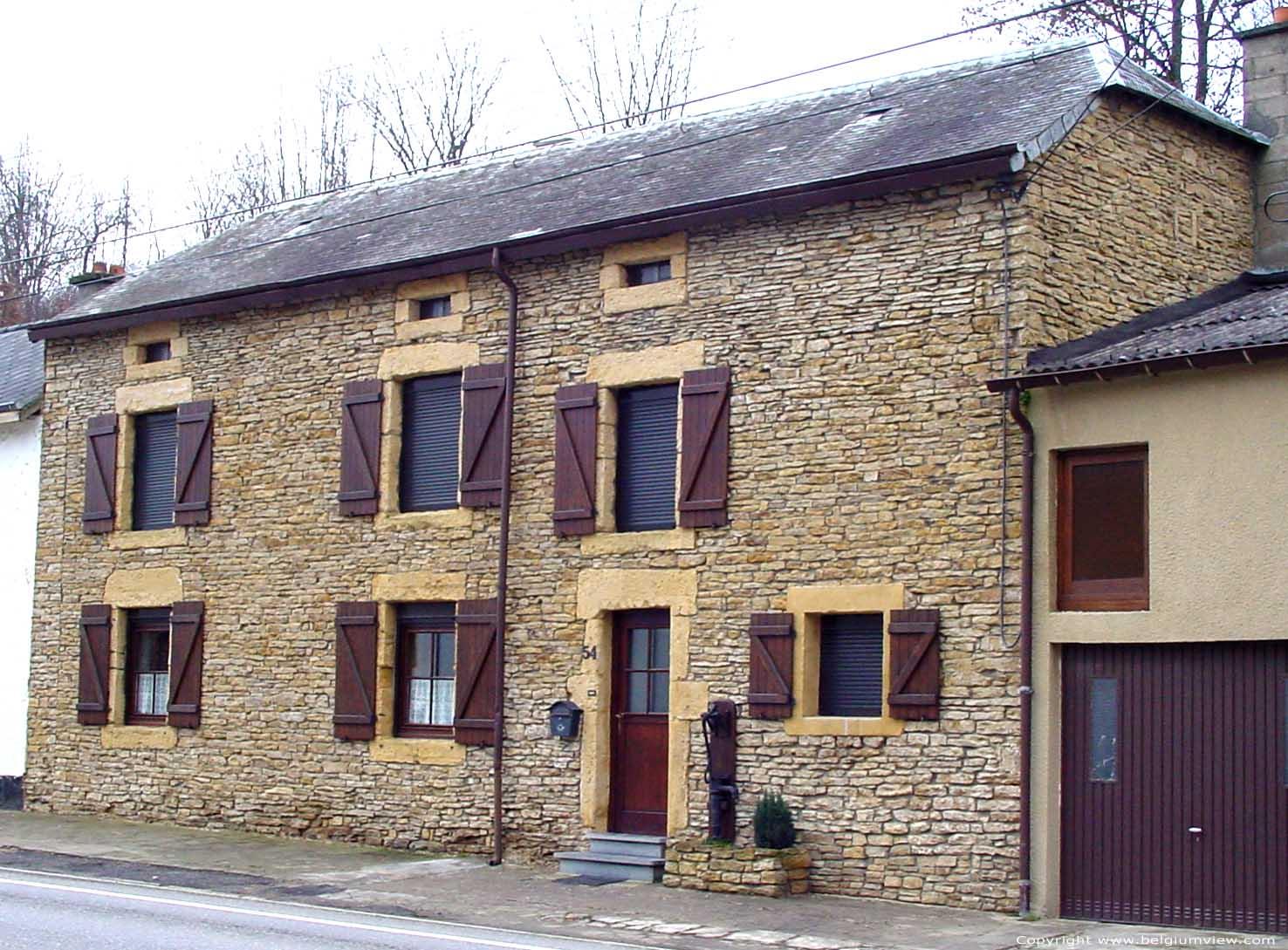 Typisch huis van de streek meix devant virton photo - Huis van de cabriolet ...