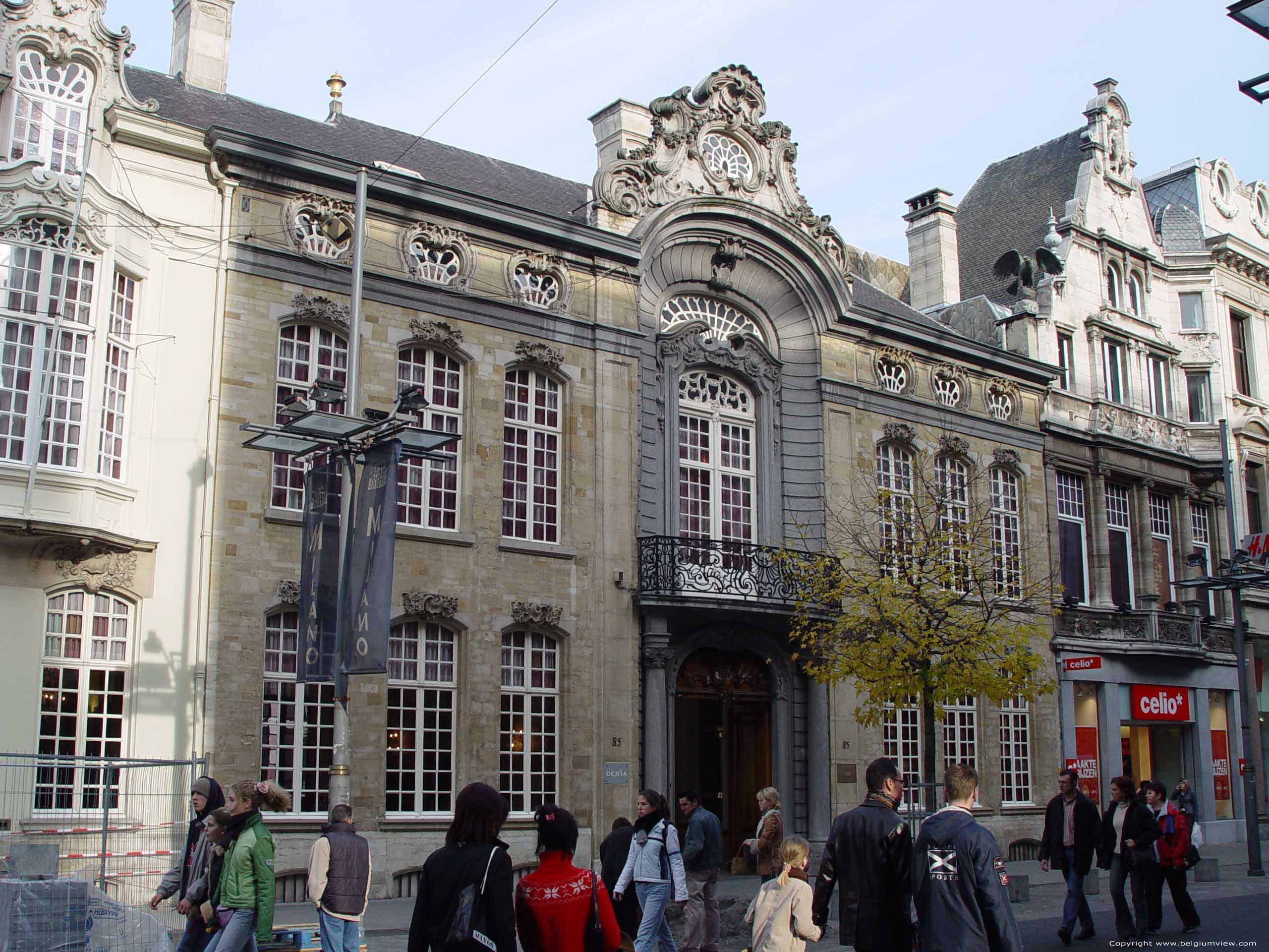 Osterrieth herenhuis antwerpen 1 centrum antwerpen foto for Herenhuis te koop antwerpen
