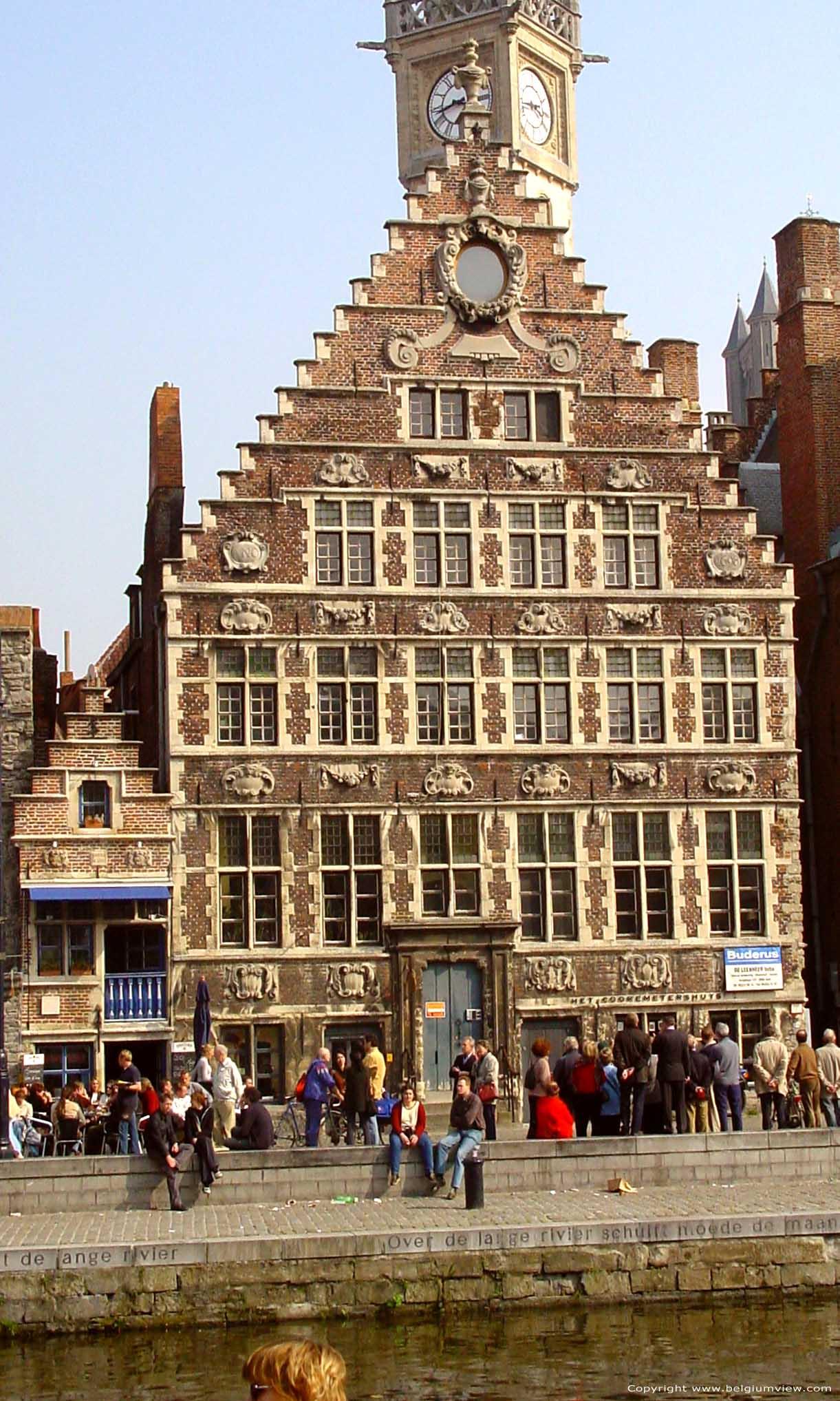 Cooremetershuys gent foto for Huis zichtbaar maken google streetview