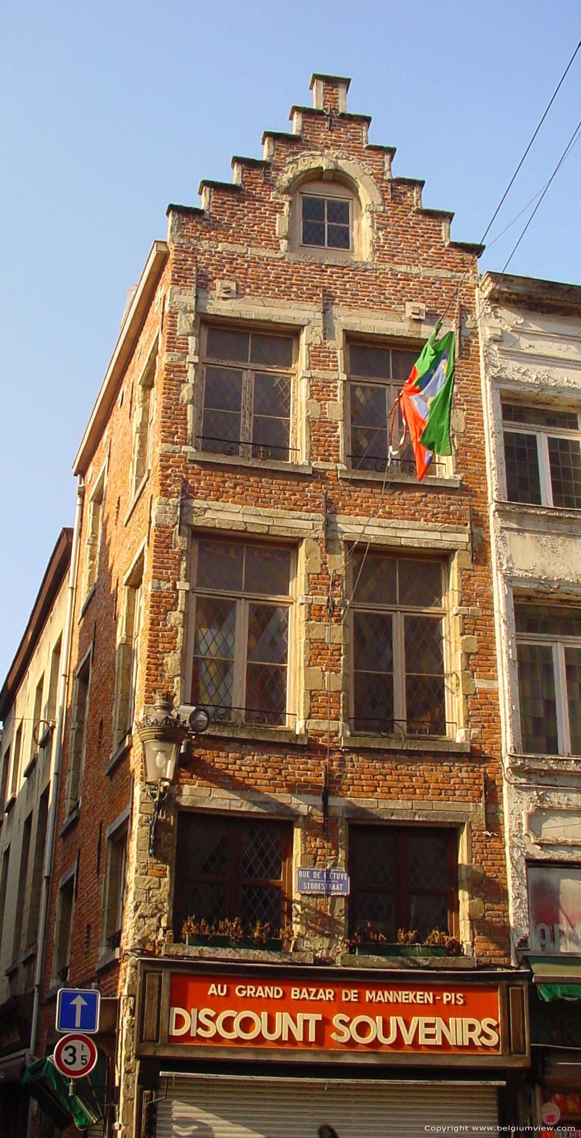Maison en face de manneken pis bruxelles photo for Assurance gens de maison belgique