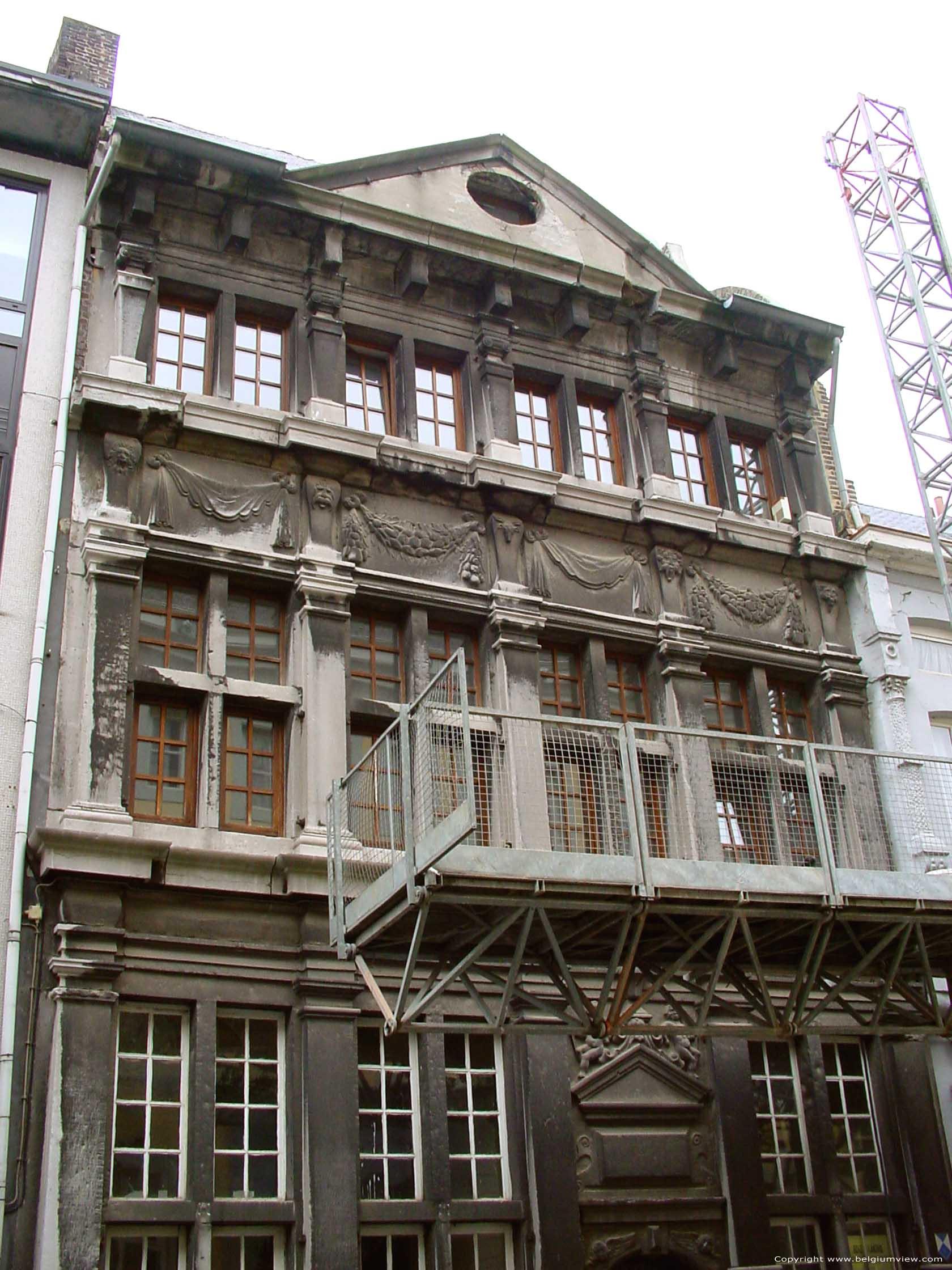 Het stenen huis maaseik belgi - Stenen huis uitbreiding ...